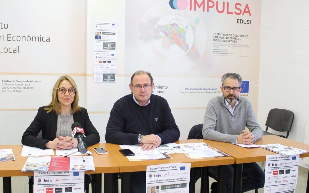 El programa Almansa Impulsa 2020 presenta su oferta formativa para emprendedores y empresas