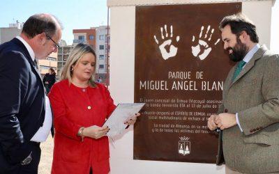 Almansa ha inaugurado el parque Miguel Ángel Blanco, cofinanciado con la EDUSI