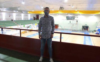 Continúan las obras de mejora en el pabellón polideportivo
