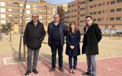 Las obras del parque Miguel Ángel Blanco han finalizado